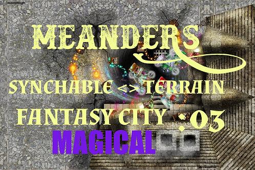 Fantasy City Magical 03