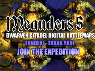 M5: Dwarven Citadels KS (Ending Soon)