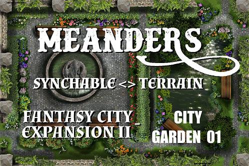 Fantasy City Expansion II - City Garden 01