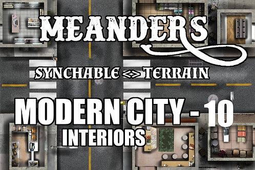 Modern City Interior 10
