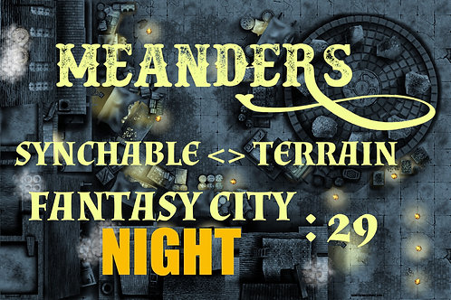 Fantasy City Night 29