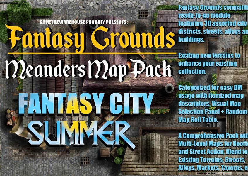 Summer City Promo Graphic