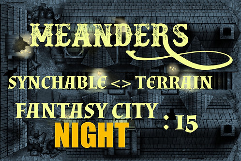 Fantasy City Night 15