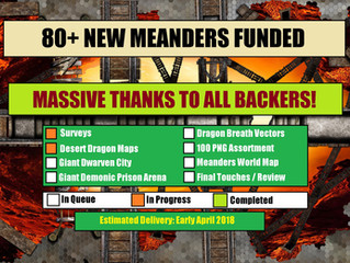 Meanders 3: DD&D Funded