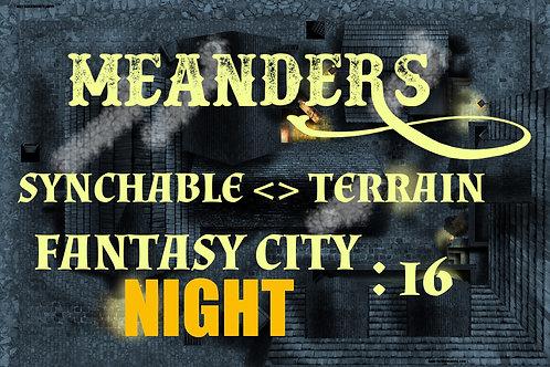 Fantasy City Night 16