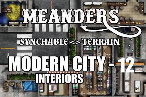 Modern City Interior 12