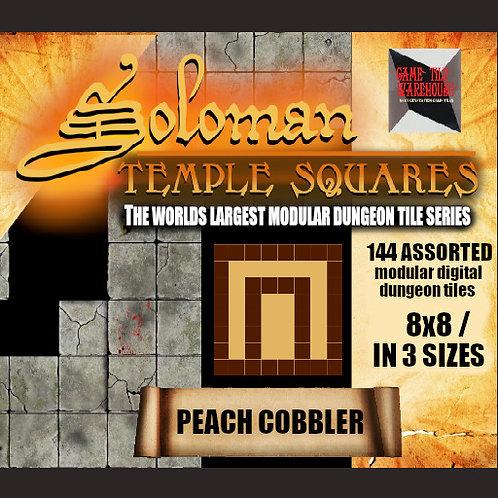 Soloman Temple Squares - PEACH COBBLER