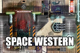 #rpg #maps #rpgmaps #scifi #spacewest #western #spacewestern #desert #base #stores #shops #blacksmith #pods #outpost #cargobay