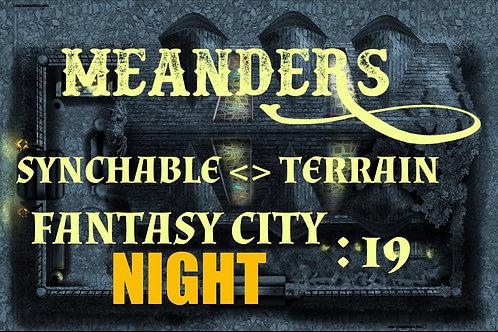 Fantasy City Night 19