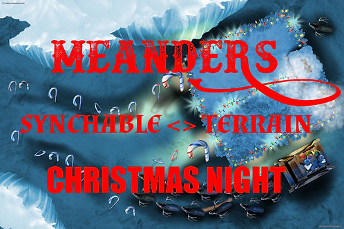 Meanders  Christmas - North Pole Night 01