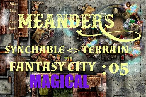 Fantasy City Magical 05