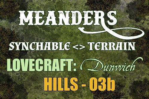 Lovecraftian Dunwich: Hills 03b