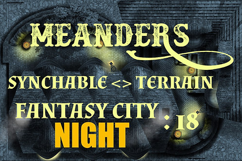 Fantasy City Night 18