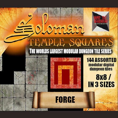 Soloman Temple Squares - FORGE
