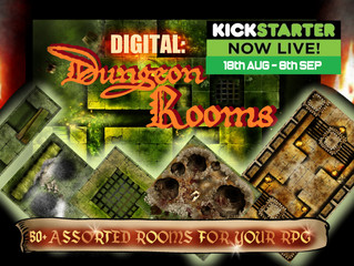 'Dungeon Rooms' Launched on KS