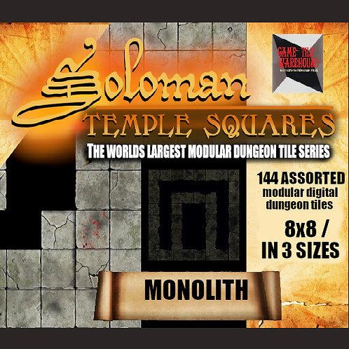 Soloman Temple Squares - MONOLITH