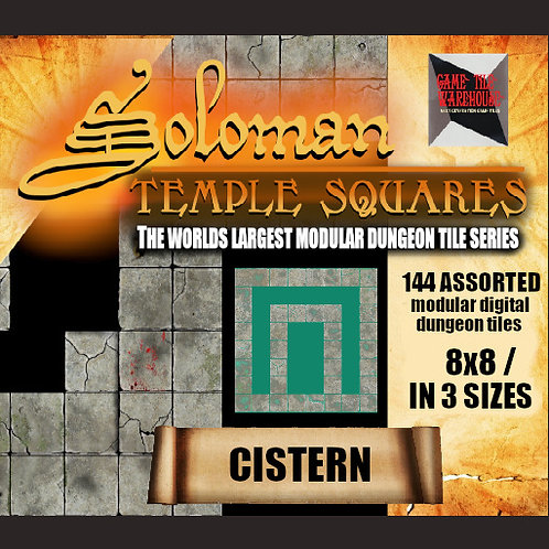 Soloman Temple Squares - CISTERN