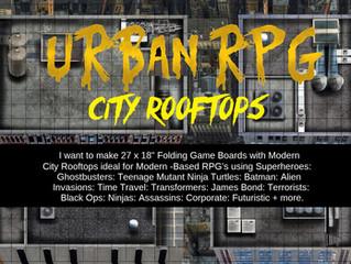 Urban City Rooftop Boards