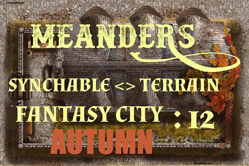 Fantasy City Autumn 12