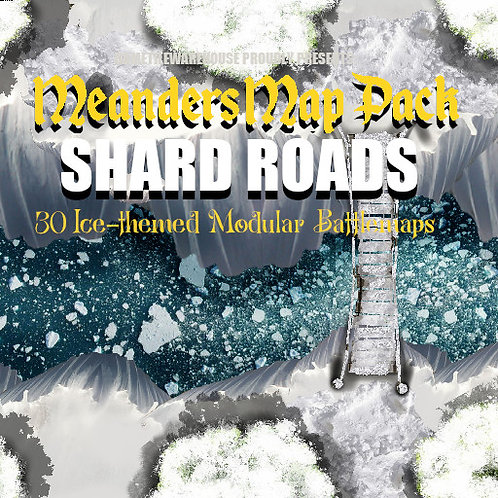 Shard Roads: Roll20 Meanders Map Pack