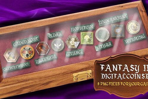 Digital Coins: Fantasy II
