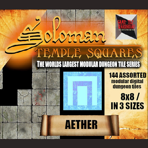 Soloman Temple Squares - AETHER