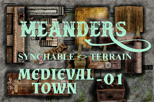 Medieval Town 01