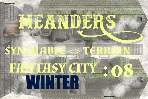 Fantasy City Winter 08