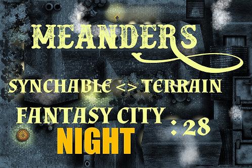 Fantasy City Night 28