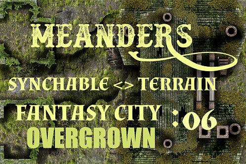 Fantasy City Overgrown 06