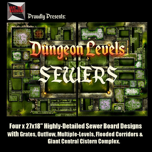 Dungeon Levels: SEWERS