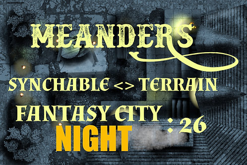 Fantasy City Night 26