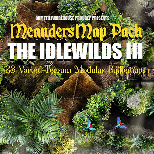 Idlewilds III: Roll20 Meanders Map Pack