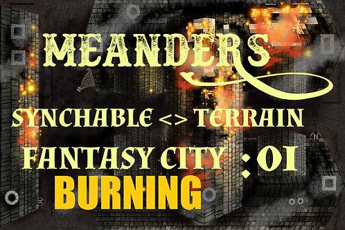 Fantasy City Burning 01
