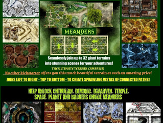 Meanders 100%+ Funded