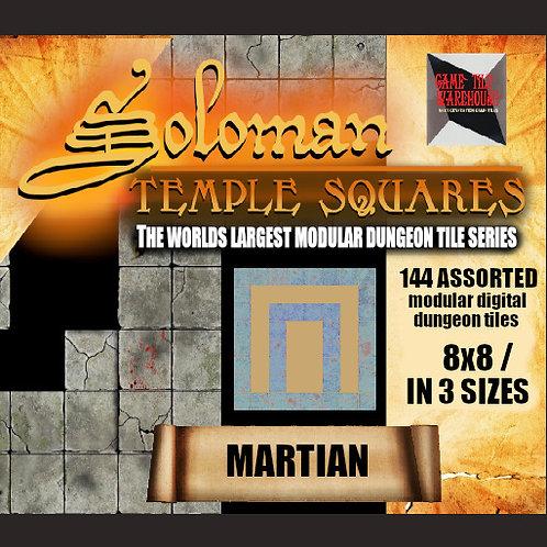 Soloman Temple Squares - MARTIAN