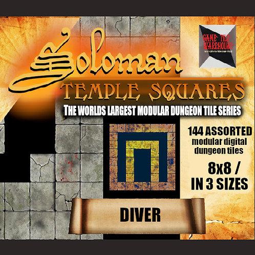 Soloman Temple Squares - DIVER