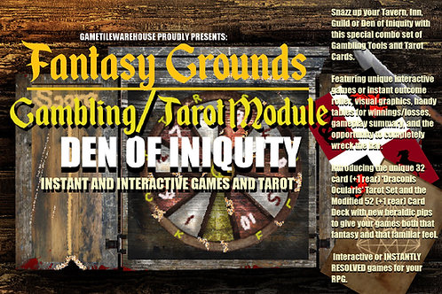 Den of Iniquity for Fantasy Grounds