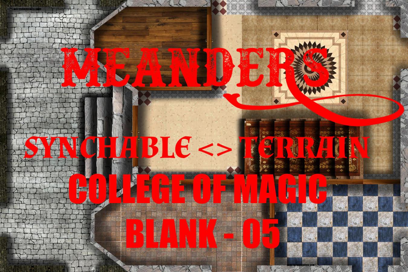 College of Magic Blank 05
