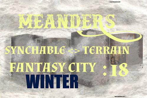 Fantasy City Winter 18