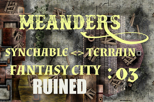 Fantasy City Ruined 03
