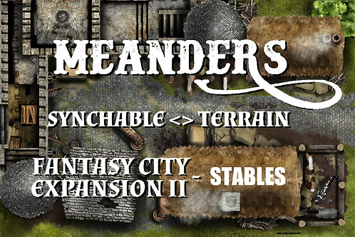Fantasy City Expansion II - Stables/Blacksmith