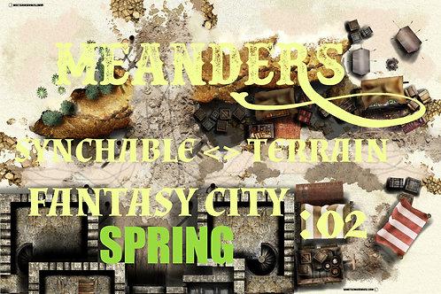 Fantasy City Spring 02