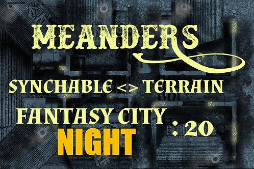 Fantasy City Night 20