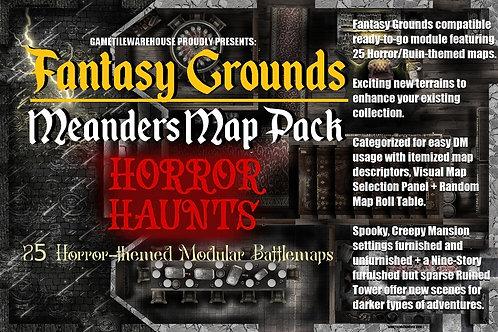 Horror Haunts for Fantasy Grounds