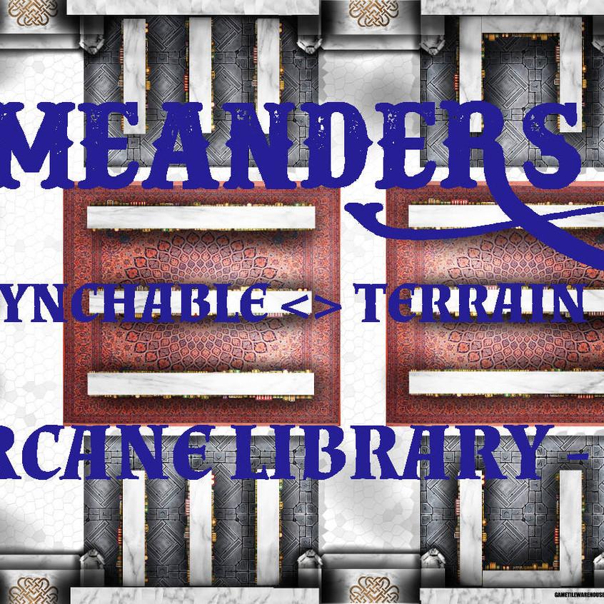 Arcane Library 01 promo