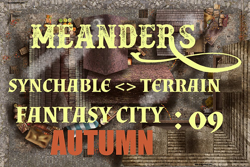 Fantasy City Autumn 09