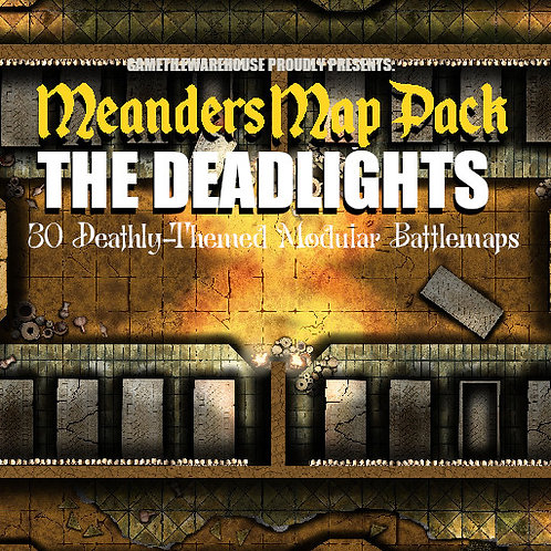 The Deadlights: Roll20 Meanders Map Pack