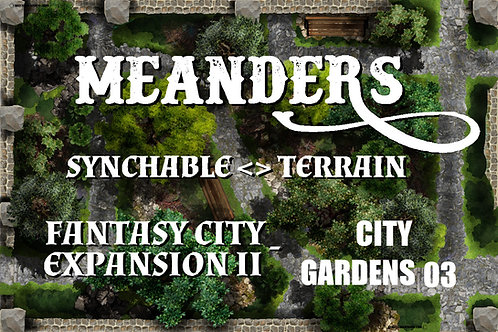 Fantasy City Expansion II - City Garden 03