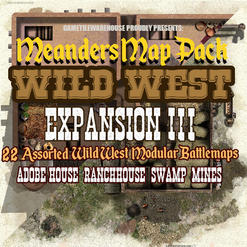 Wild West Calamity City Expansion III.jp